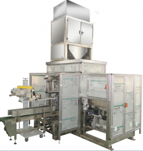 Automatic plastic granule bagging machine plastic bag