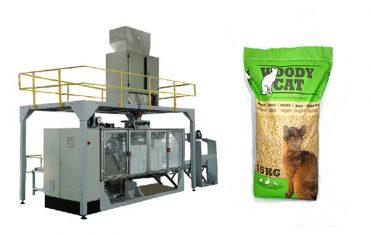 5kg-25kg袋装猫砂包装机械