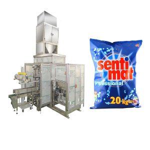 自动预制大袋包装机洗涤剂粉末开口袋