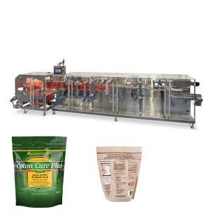 Doypack粉末颗粒包装卧式填充密封机
